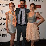 OIC - ENTSIMAGES.COM - Danielle Evon Ploeger, Brian Villalobos and Akasha Villalobos at the Film4 Frightfest on Monday   of  Last girl standing UK Film Premiere at the Vue West End in London on the 31st  August 2015. Photo Mobis Photos/OIC 0203 174 1069