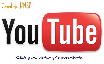 Canal de vídeo en YouTube para NMSP