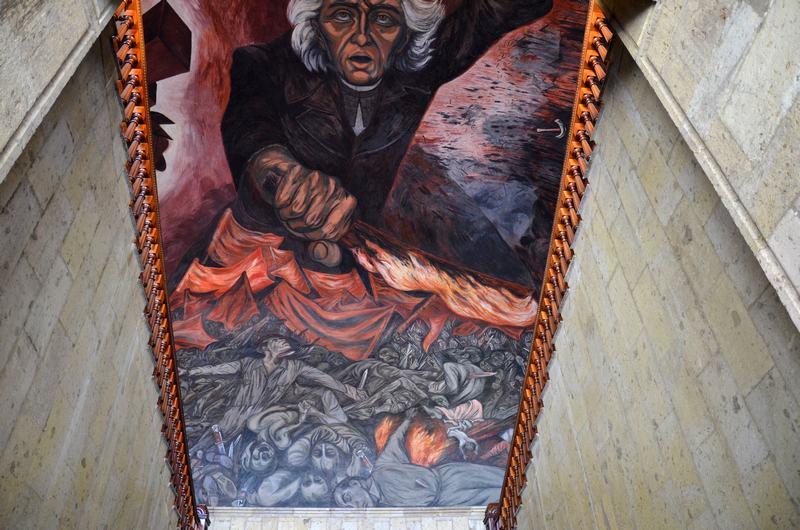 Mural de Palacio de Gobierno
