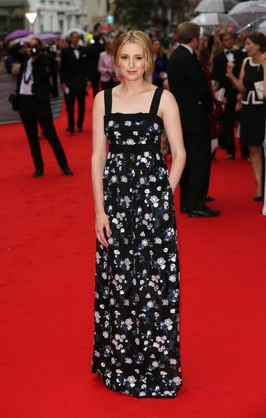 Laura Carmichael attends as BAFTA celebrate Downton Abbey