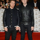 WWW.ENTSIMAGES.COM -     Gorgon City   arriving at   MOBO Awards 2014 at SSE Arena Wembley October 22nd 2014Annual awards show recognising the best in urban music which is supported by HTC Photo Mobis Photos/OIC 0203 174 1069