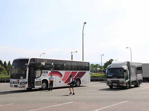 西鉄高速バス「桜島号」 9134 えびのPAにて その4