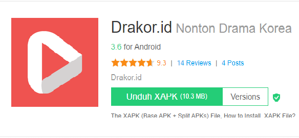 Cara download Apk Drakor.id di Browser ( Bukan di Play Store)