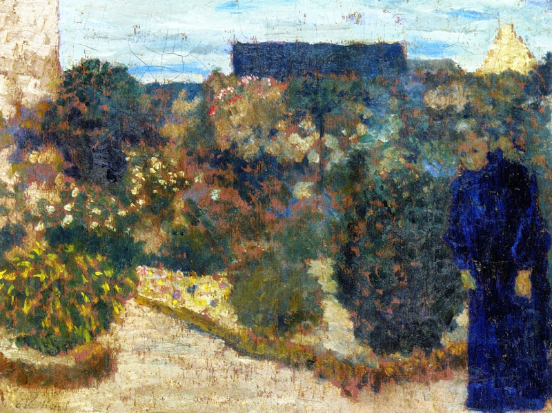 Édouard Vuillard - Marie in the Garden