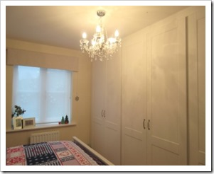 Shaker style fitted wardrobes