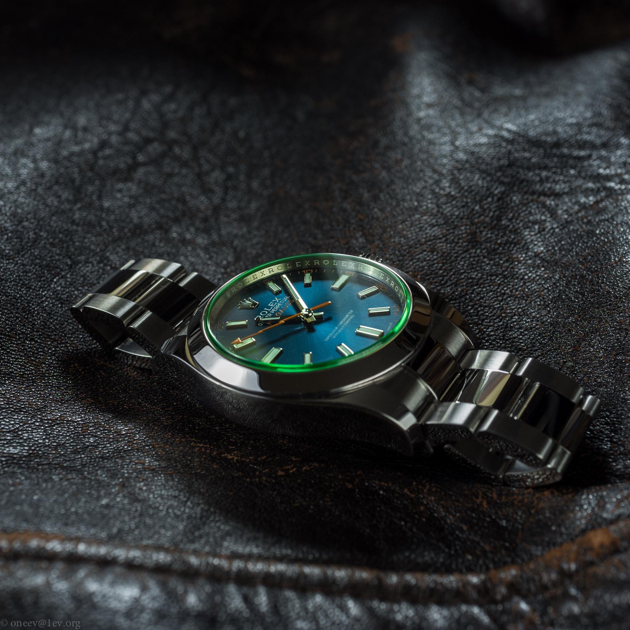 Revue illustrée de la Rolex Milgauss Z-Blue 20150508-DSCF6597
