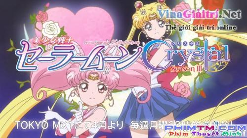 Xem Phim Thủy Thủ Mặt Trăng Reboot 3 - Pretty Guardian Sailor Moon Crystal Season Iii - phimtm.com - Ảnh 1