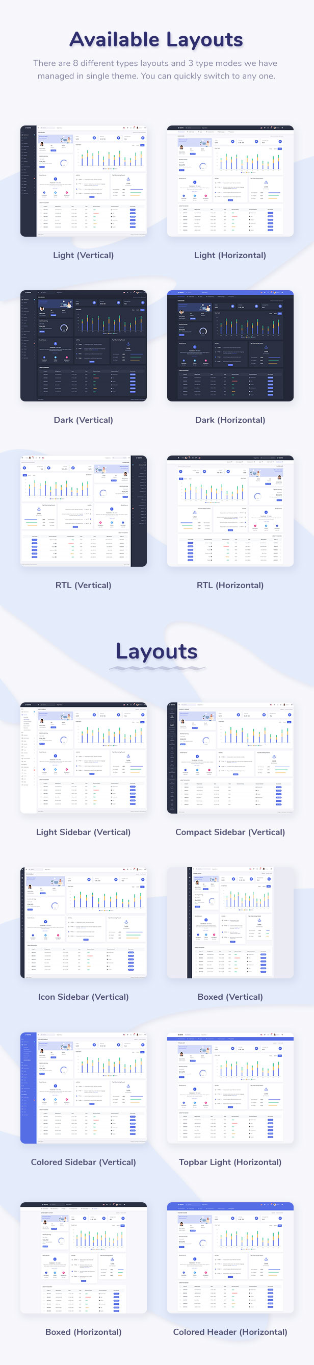 Skote - Node.js Admin & Dashboard Template - 6