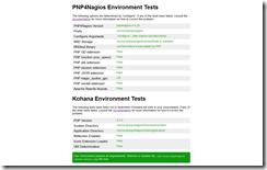 PNP4Nagios-Environment-Test