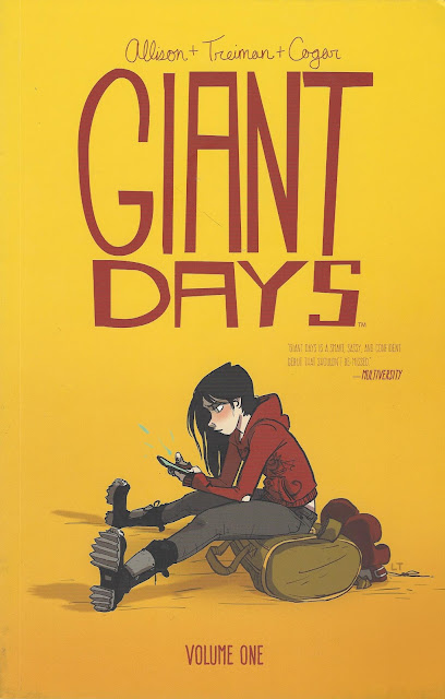 Giant Days, v. 1 cover