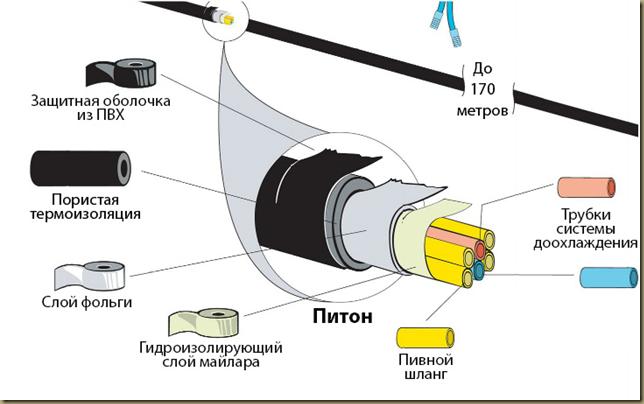 Схема пивного питона