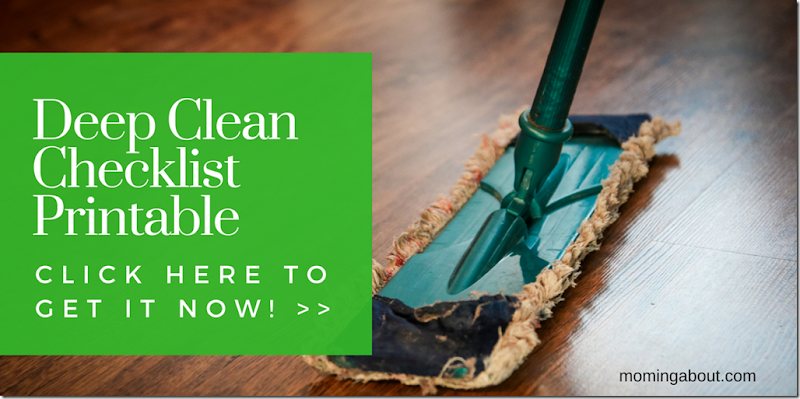 Deep Clean Printable