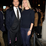 WWW.ENTSIMAGES.COM -     Seb and Heidi Bishop       UK store launch of J Crew at 165 Regent Street November 6th 2013                                               Photo Mobis Photos/OIC 0203 174 1069