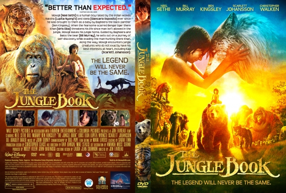 The Jungle Book – Latino, Inglés – DVD9