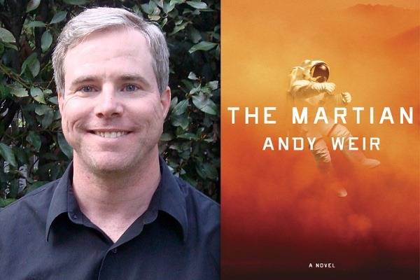 Auteur Andy Weir en zijn debuutroman The Martian
