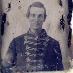 John Robert (Robertson) Gleaves (1826 - 1901) in his Civil War uniform