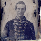 John Robert (Robertson) Gleaves (1826 - 1901) in his Civil War uniform
