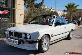 BMW E30 - White Cabrio
