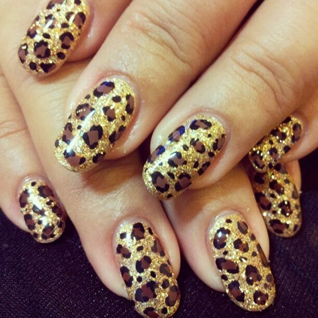 Latest Leopard Print Nail Art Designs Collection 2017 Styles Art