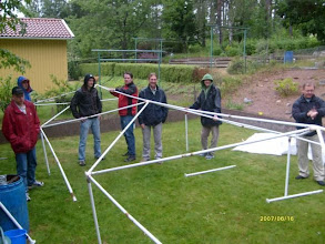 Photo: hmmm...this is supposed to be a party tent!