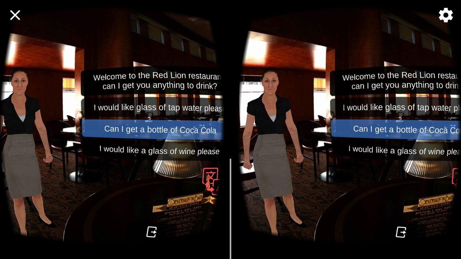 Language VR- screenshot