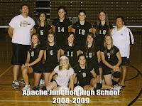 2008 AJHS Varsity