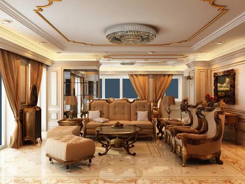 Bộ ghế sofa cổ điển sang trọng và quý phái