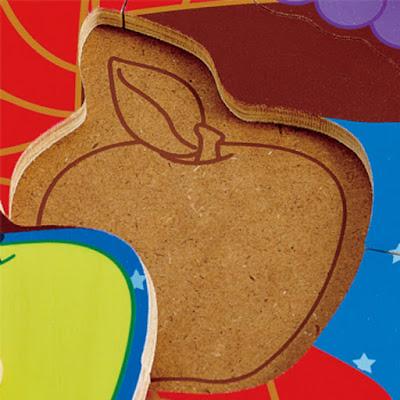 Xếp hình giỏ trái cây Hape Fruit Basket Puzzle