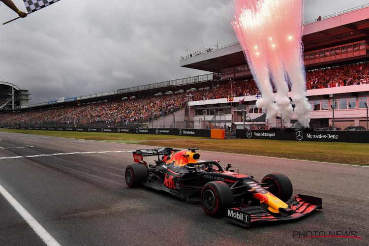 Dat zal wat geven zondag! Red Bull pakt uit op vrije training in de Hongaarse regen
