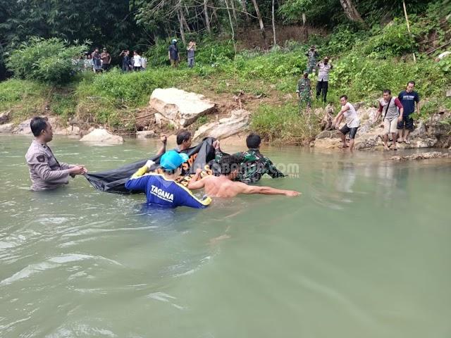 Keluarga Korban Tenggelam di Sungai Benawa HST Meyakini Meninggal Karena Idap Penyakit