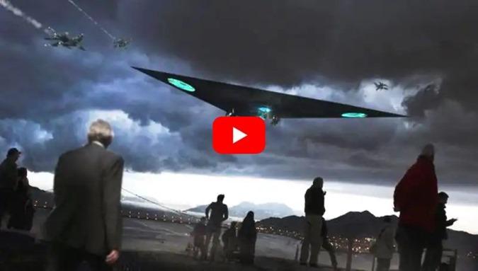 OVNI ufo ou TR-3B avistado nos céus da Finlândia