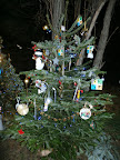 Der Weihnachtsbaum voller Trackables