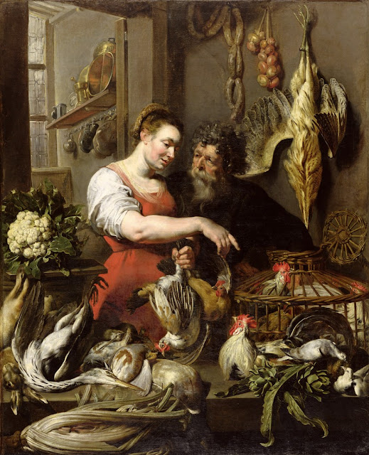 Frans Snyders - The Poulterer's Shop