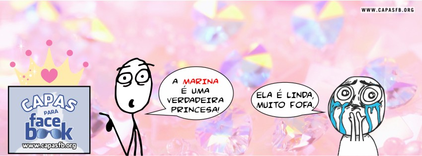 Capas para Facebook Marina