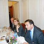 Dîner du groupe RFE au Sénat à Paris le 12 décembre 2013, avec le Sénateur Robert del Picchia
