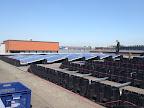 Plaatsing van 70 zonnepanelen op plat dak in Houten