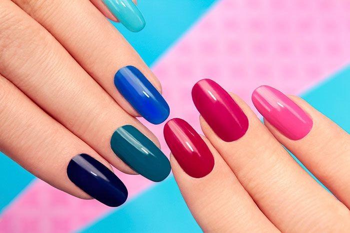 Mix N Match Nail Art Design