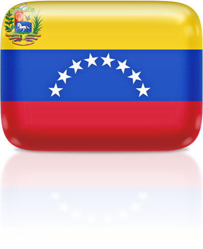 Venezuelan flag clipart rectangular