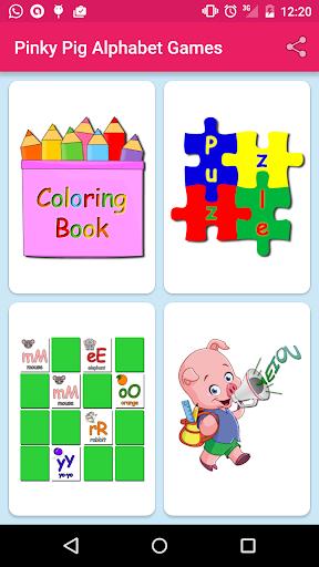 Peppe Pig Alphabet Games