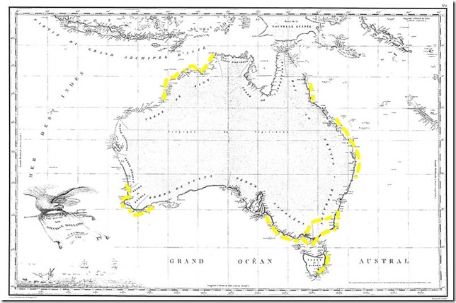 Endless Sumer Freycinet_Map