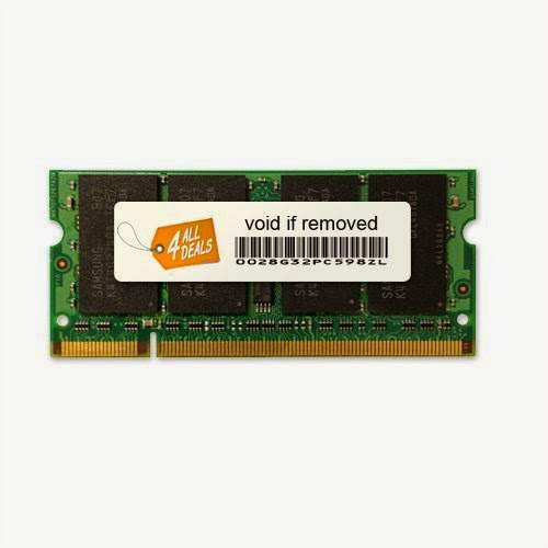 2GB Kit (2x1GB) Memory RAM Upgrade for Dell Inspiron 1501 (DDR2-533MHz 200-pin SODIMM)