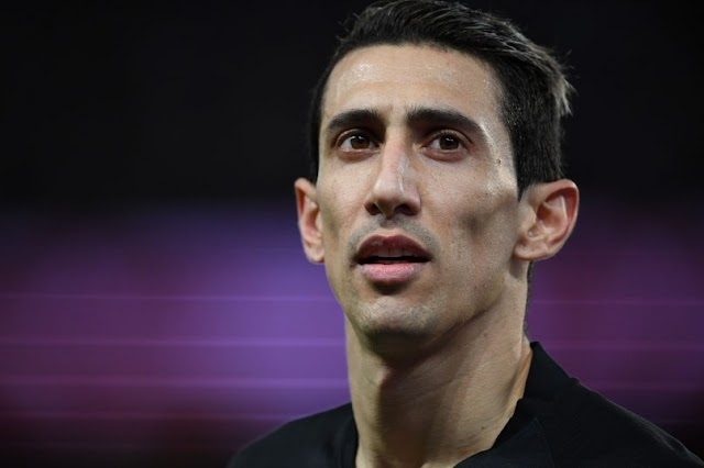 Di Maria Handed Four Match Ban For Spitting During Ligue 1 Clash With Marseille