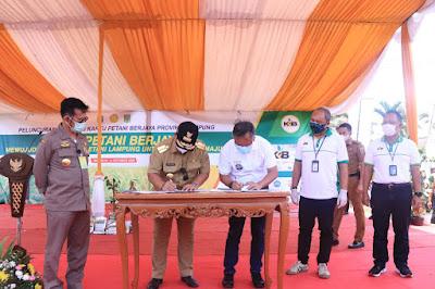 Gubernur Arinal dan Menteri Pertanian Resmikan Peluncuran Kartu Petani Berjaya