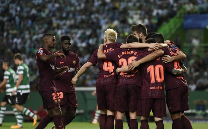 Video: Sporting CP 0 – 1 Barcelona [Champions League] Highlights 2017/18