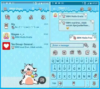 BBM MOD Tema BBM MoOo V2.12.0.9 by Mumuku May
