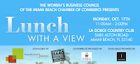 """WBC presents """"Lunch with a View"""""""
