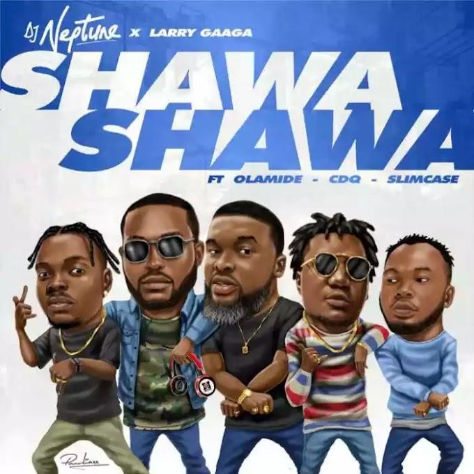 [Music] DJ Neptune Ft. Larry Gaaga x Olamide x CDQ x Slimcase – Shawa Shawa
