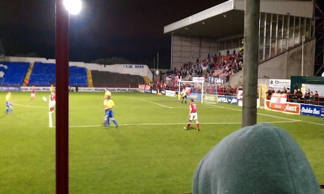 trybuna ultras Shelbourne FC