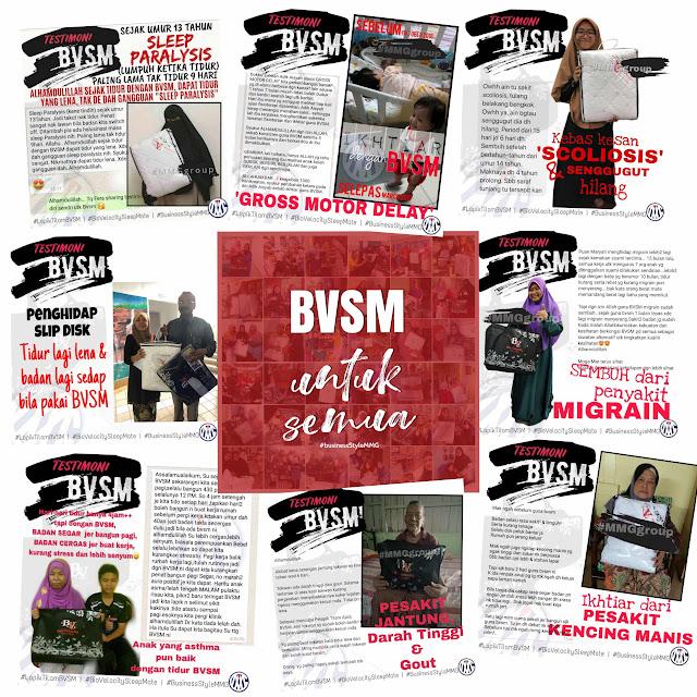 Naa Kamaruddin Testimoni BVSM