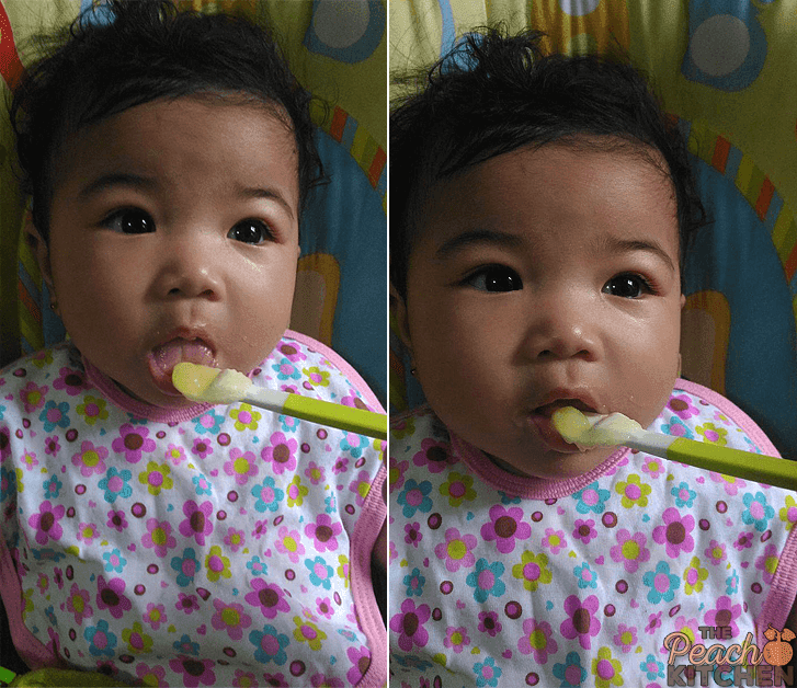 Homemade Apple Sauce for Twinkle